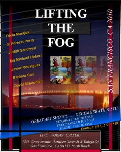 Judith Sandoval is part of the Lifting The Fog group exhibition at the Live Worlms Gallery