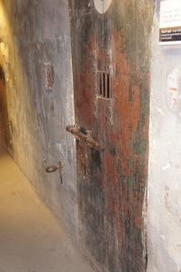 Cell door at Hoa Lo prison