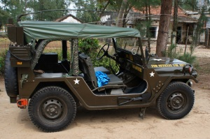 Restored Military Jeeps