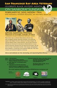 San Francisco Bay Area Veterans: Sankofa Sunday