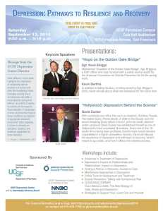 Depression Pathways to Resilience Recovery 09/21/14